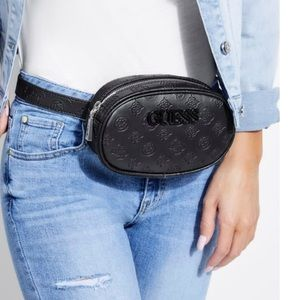 Guess Crossbody convertible into Fanny Pack bag.